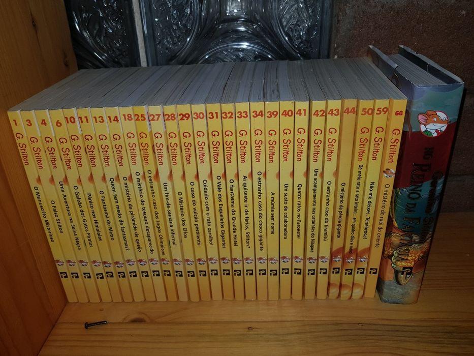 Minha coleção de Geronimo Stilton