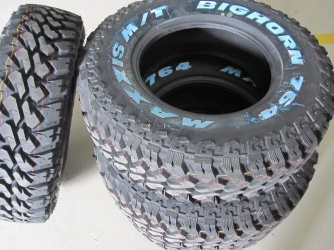 Vand anvelope noi off road MT 265/70 R17 Maxxis Big Horn