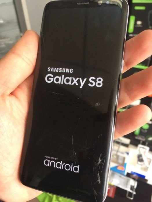Samsung Galaxy S8 G950 - СМЯНА НА СЧУПЕНО СТЪКЛО << Промо >>