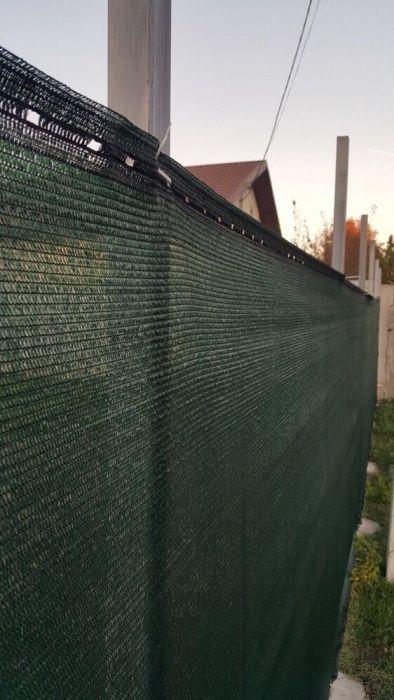 OFERTA !!! Plasa verde pentru gard / umbrire. POZE REALE