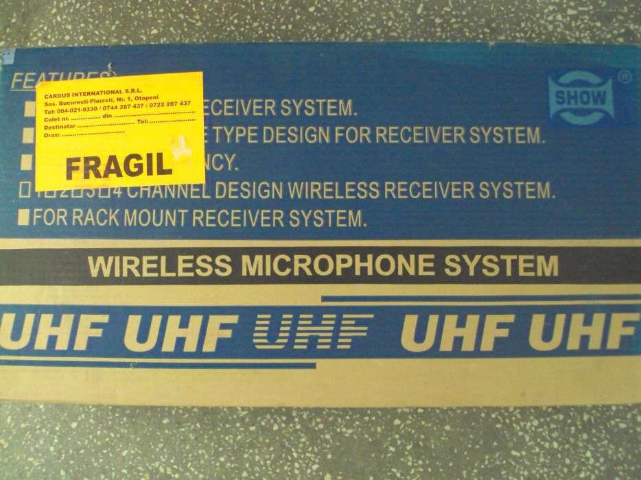 Set microphone wireless system karaoke-party