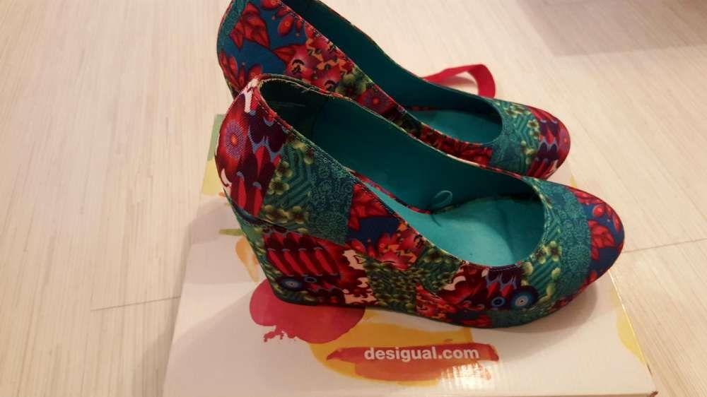 Pantofi botine platforme Desigual marime 40
