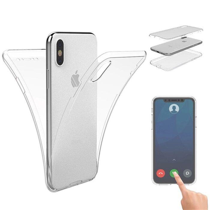Iphone X XS 10 - Husa 360 Slim Din Plastic Fata Spate Lateral