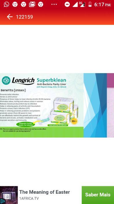Produtos da Longrich