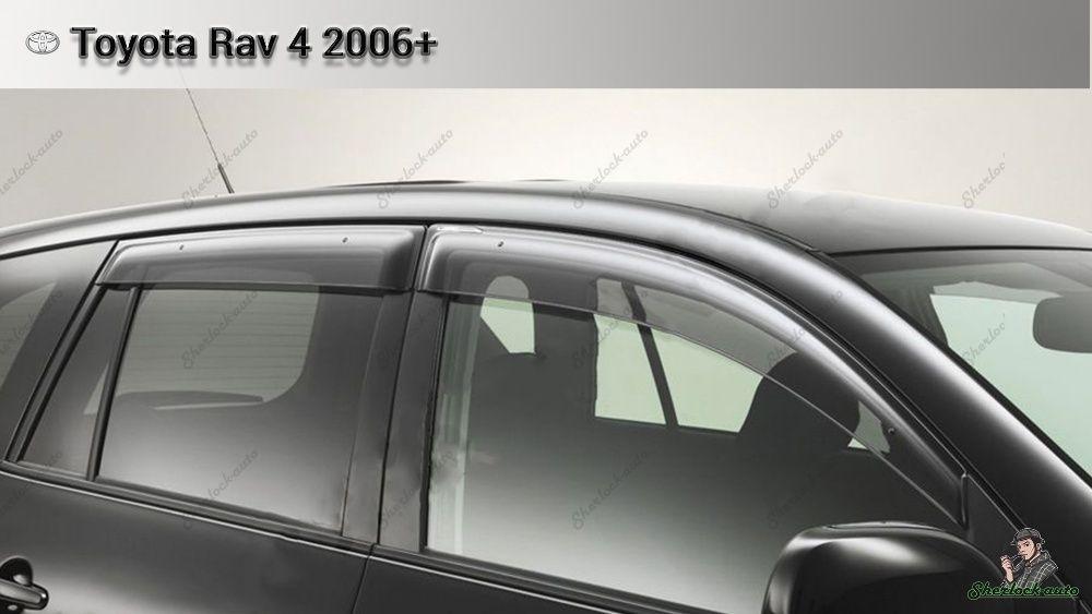 Ветровики оригинал TOYOTA RAV4 с 2006 по 2012 г.