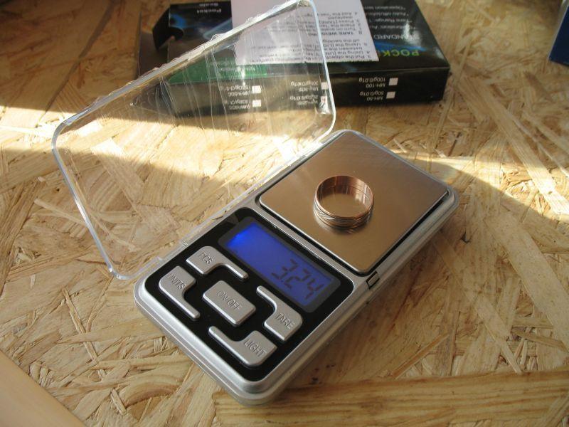 Ювелирные весы 0,1*500 грамм и 0,01*200 грамм