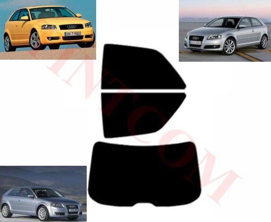Audi A3 (3 врати, хечбек, 2003 - 2010)- Фолио за затъмняване на стъкла