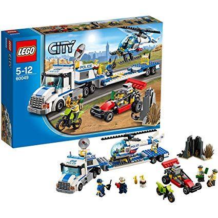Конструктор LEGO City Перевозчик вертолета 60049 оригинал