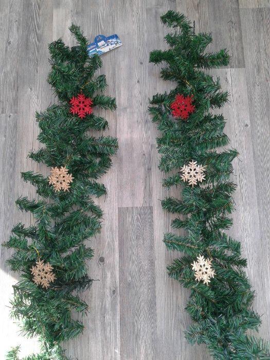 Намалено от 32лв-Коледна украса елхов клон 2,70 м