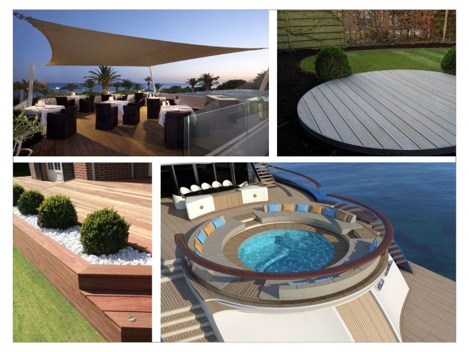 Montaj deck, pontoane si terase din lemn sau WPC