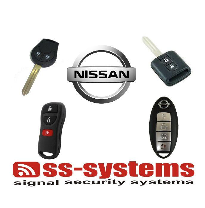 Интерфейсна CAN аларма с / в / от оригиналния ключ за NISSAN и SUZUKI