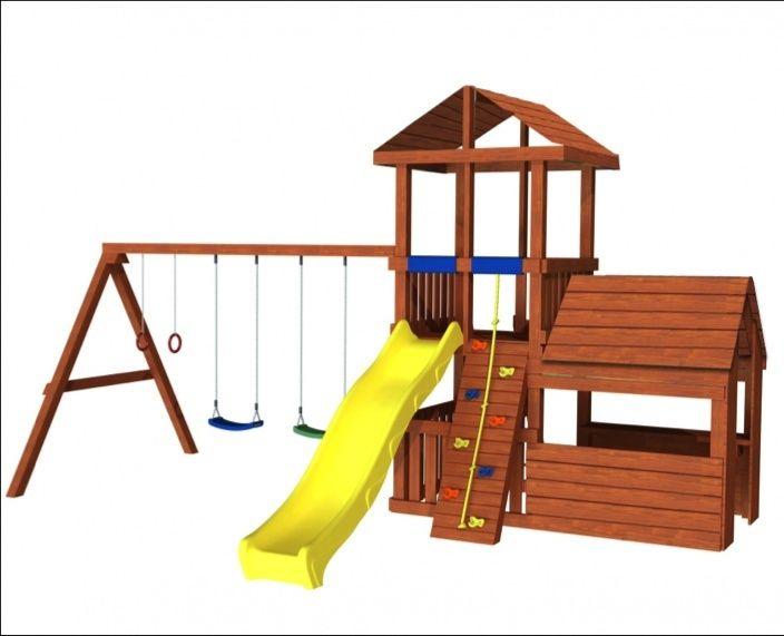 Продам детскую площадку (домик, горка, качели, столик и др.)