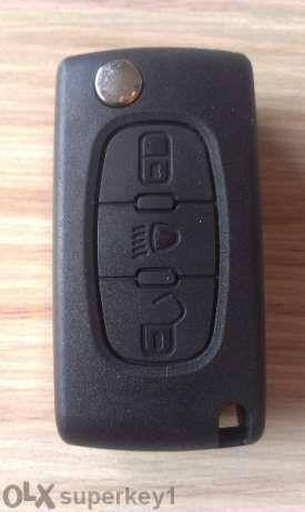 Кутийка ключ Пежо/Peugeot 107, 207, 307, 308, 407, 408, 607,expert