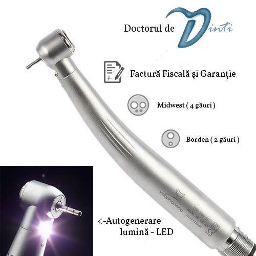 Turbina dentara LED autogenerare TOSI sau SEASKY - stomatologie