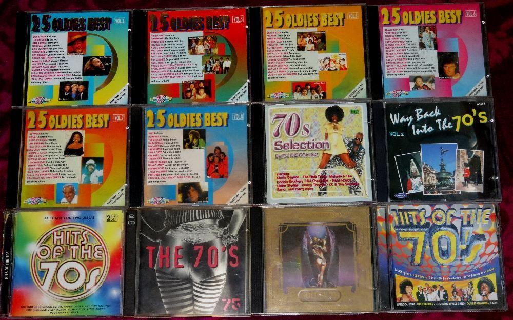 Colectie CD audio anii 60 70 pop rock disco pt cd player