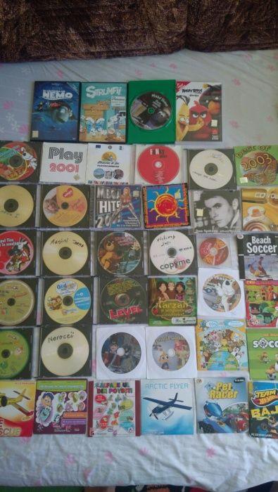 Colecție cd-uri : educative, muzică, jocuri...