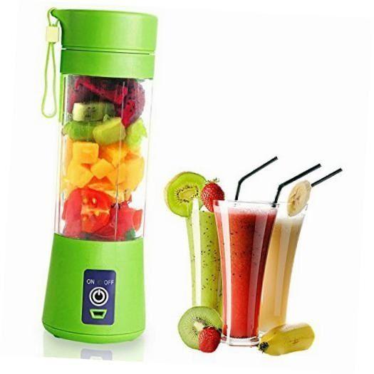 Blender mixer shaker portabil suplimente proteine fructe