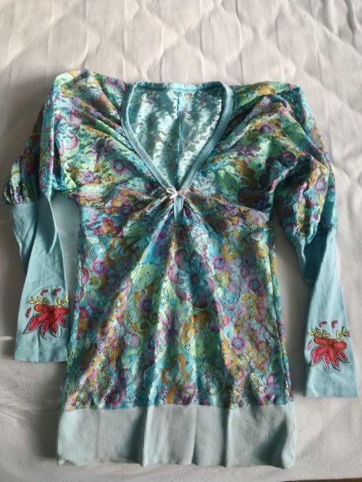 Цветна блуза