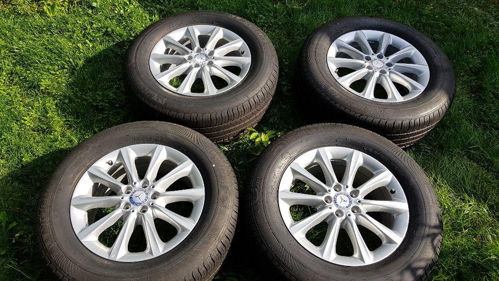 "4бр. оригинални джанти Mercedes ML 18"" 5x112 / Michelin 265/60/18"