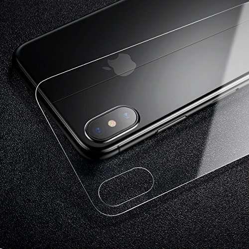 Folie sticlă iPhone X - spate + folii fata iPhone...