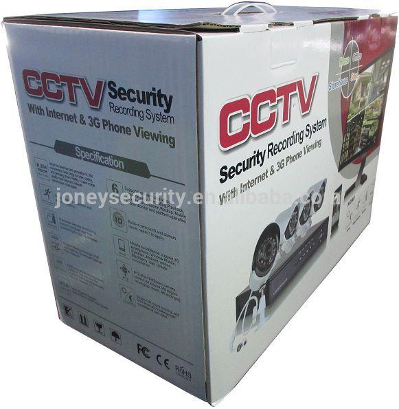 Camera de vigilancia e Biométrico com entrega.