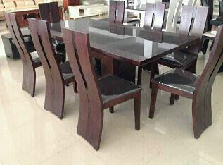 Mesa de jantar de 6 lugares disponivel Ingombota - imagem 1