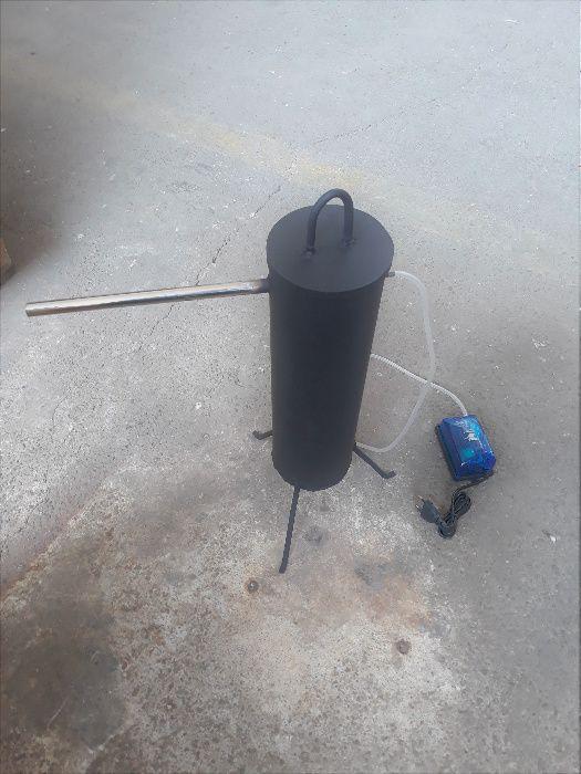 Vand generator fum rece pentru afumatoare din inox