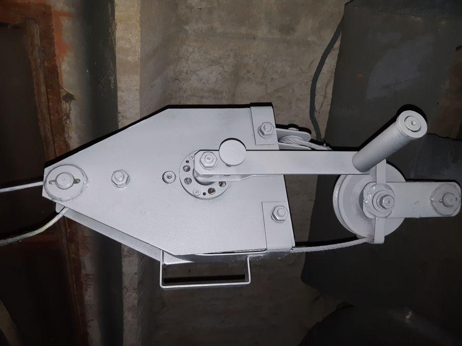 Блок лебедка Ступакова
