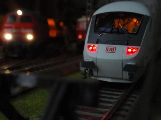 Vagon IC cu cabina Roco, scara H0