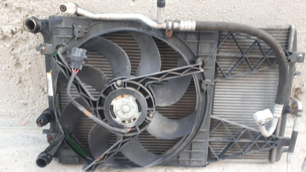 Radiatoare Apa,si clima cu electroventilator vw polo 1.4 tdi