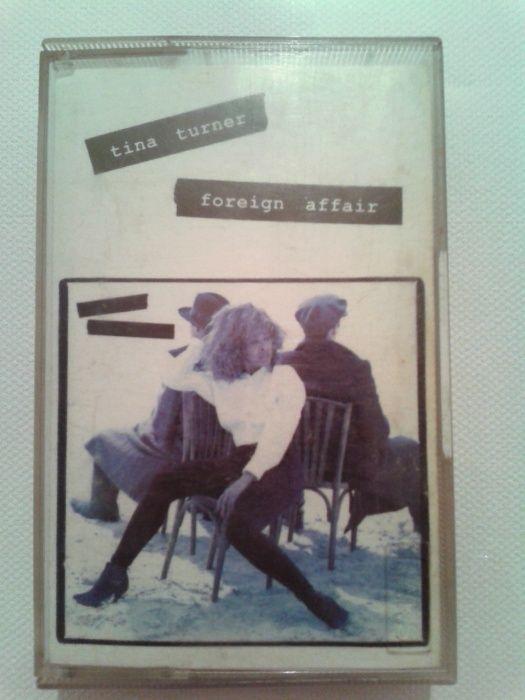 Casetă audio origină cu Tina Turner Foreign Affair