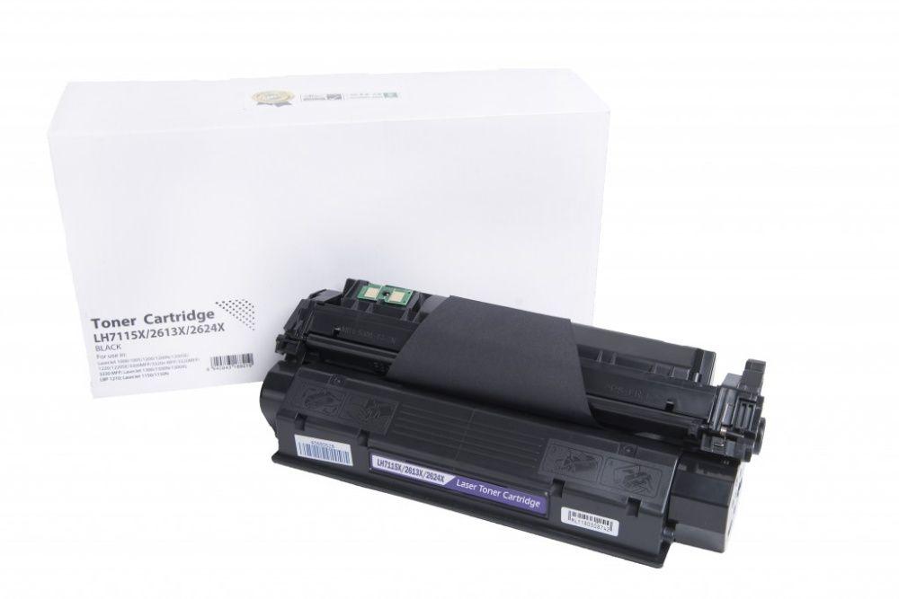 Чисто нови съвместими тонер касети HP C7115X - 15X; Q2613X - 13X;