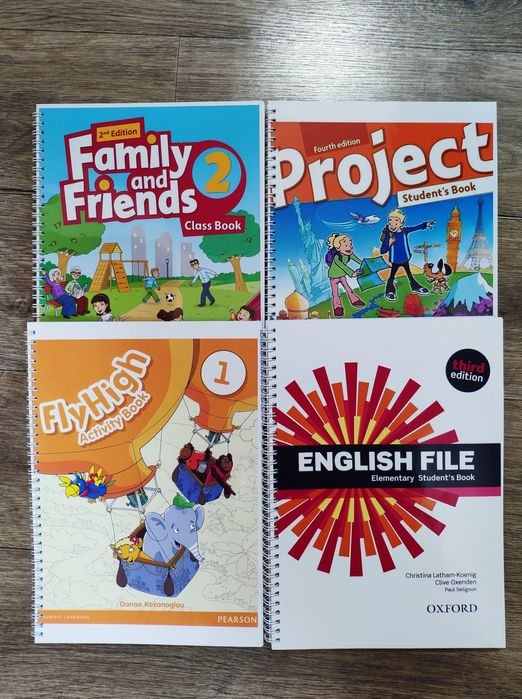 Комплекты English File, family and Friends, Fly High, Project