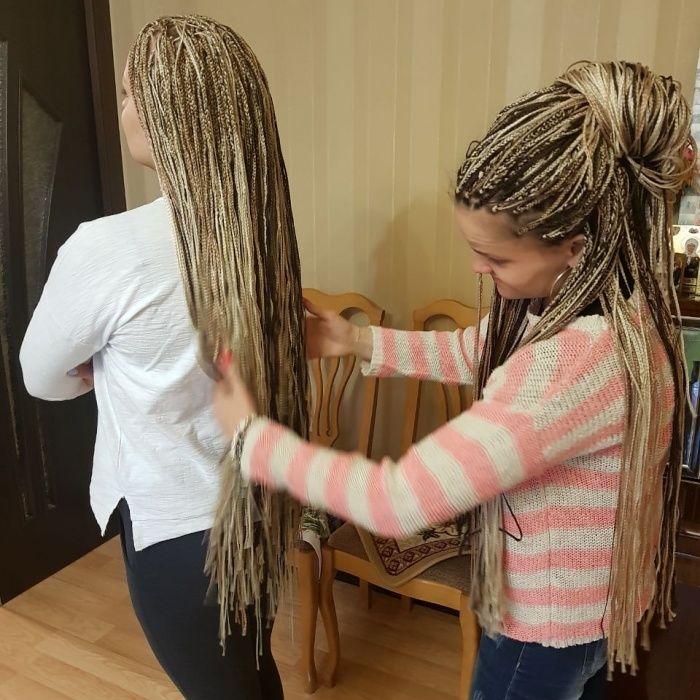 Плетенеие/расплетение афро, зизи, д.е. кос/дред в домашней студии Алматы - изображение 6