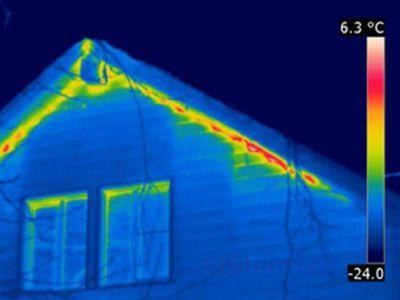 Тепловизионное обследование домов, квартир, бани