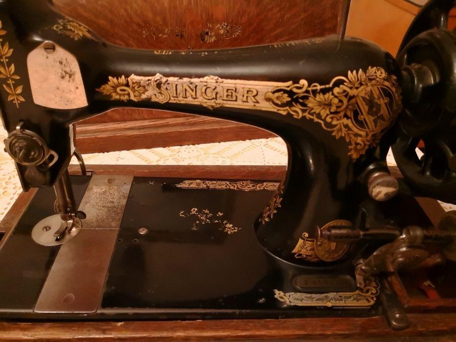 Singer оригинална ръчна шевна машина - работеща