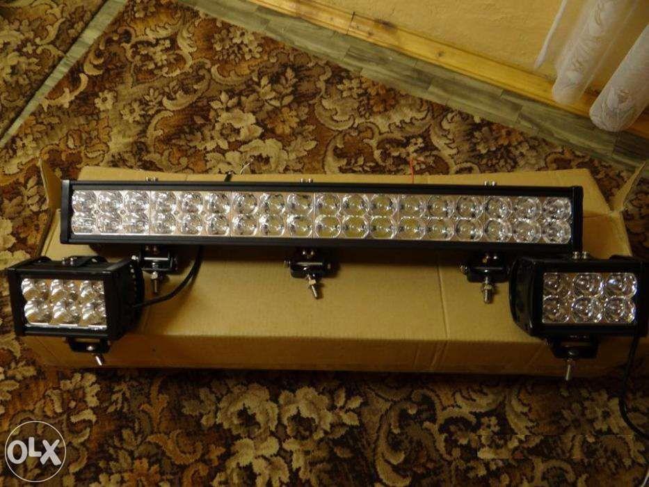 Светодиодные линейки-люстры для внедорожников