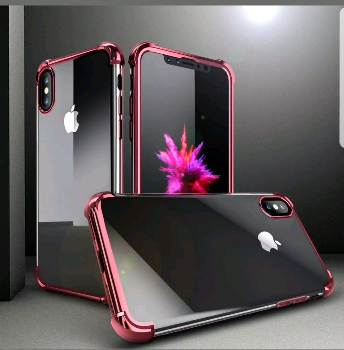 Husa Iphone X Gold