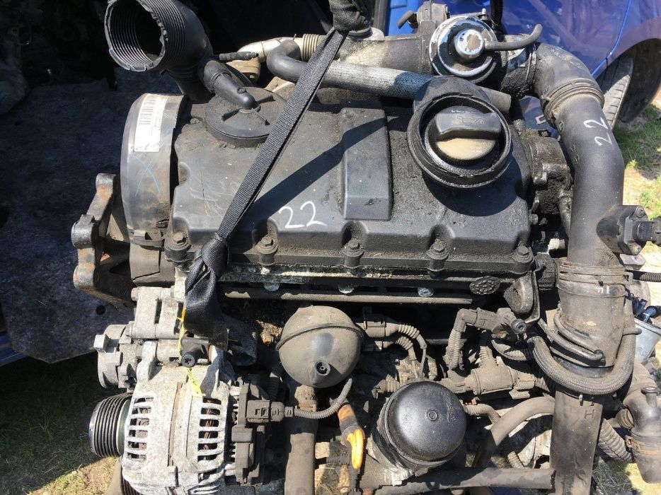 Motor VW Sharan, Ford Galaxy, Seat Alhambra 1.9 TDI 85 KW 116 CP AUY