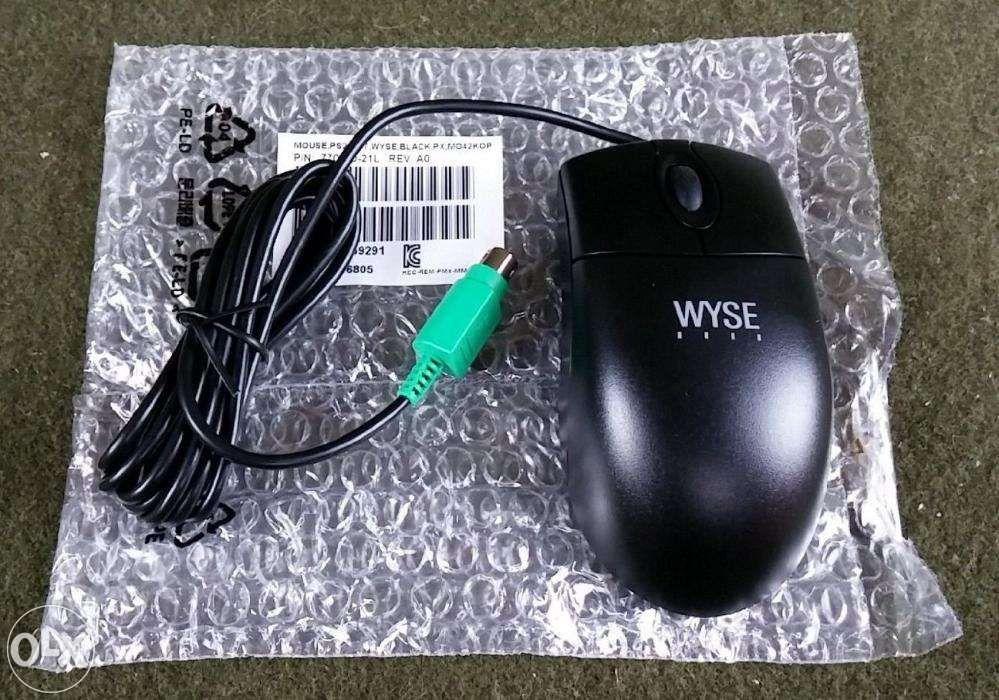 Mouse optic DELL Wyse 770510-21L PS2, 3 Butoane, Rotita scroll, NOU!