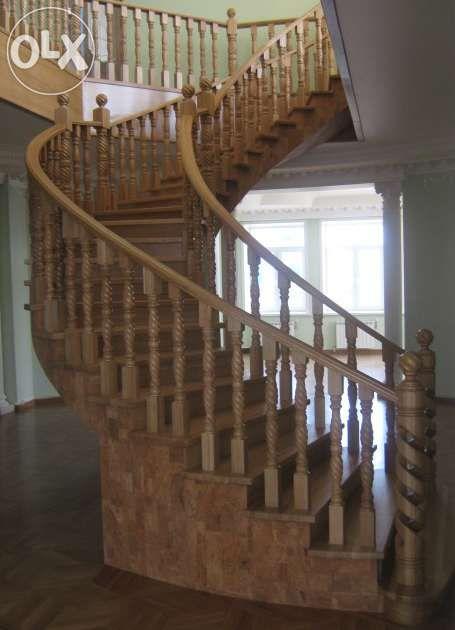 лестницы, все из дерева