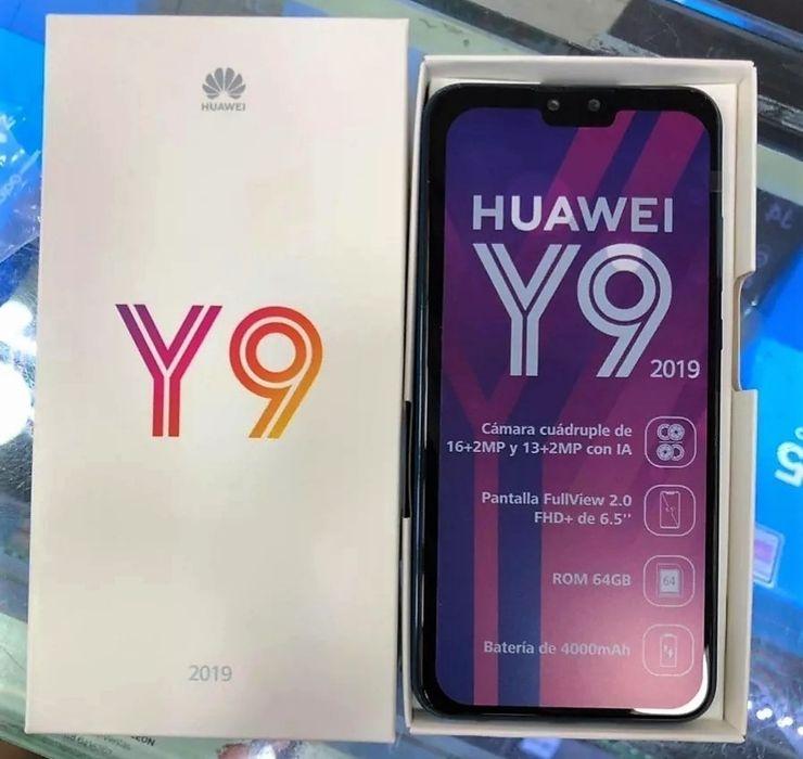 Huawei Y9 2019 selados.