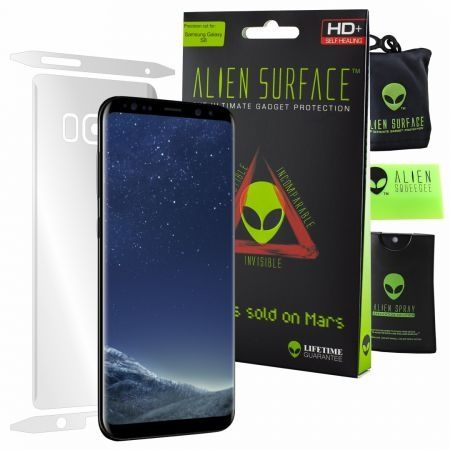 Folie Alien Surface HD, Samsung GALAXY S8, protectie spate, laterale