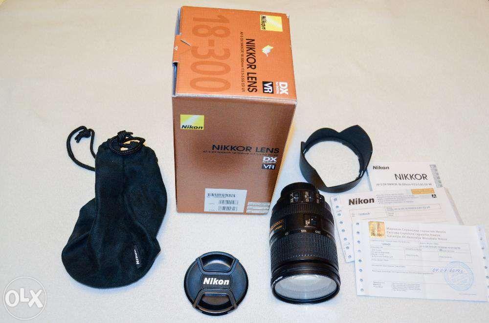 Объектив Nikon: Nikkor AF-S 18-300mm