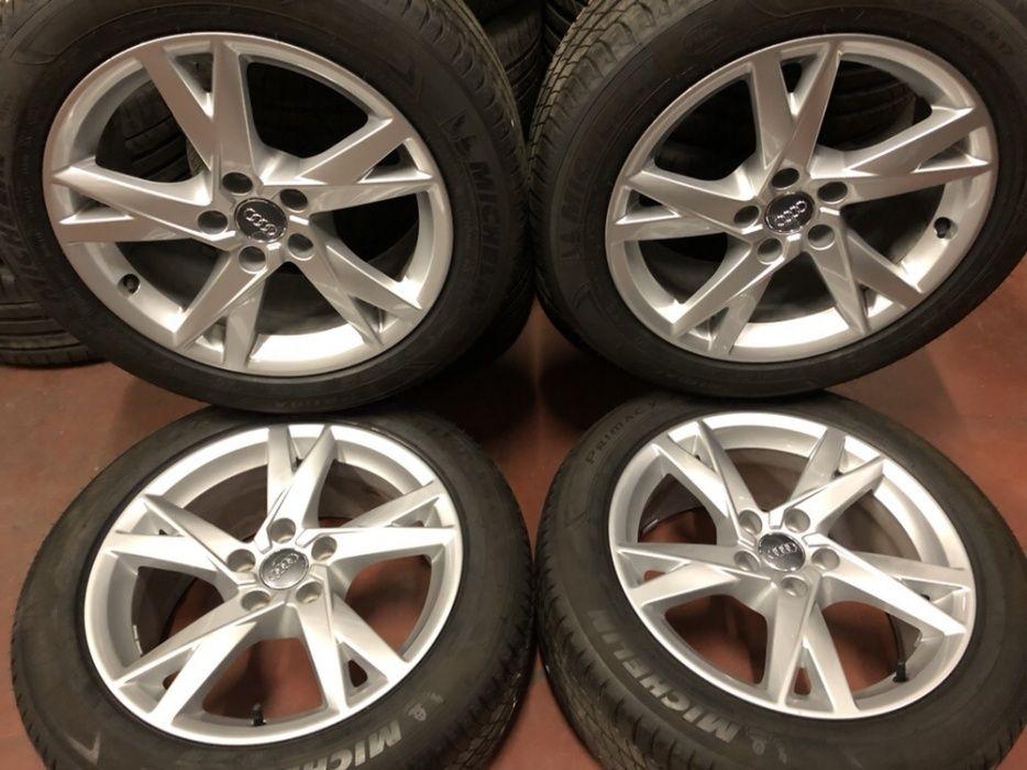 Jante Originale Audi R17 A4 A5 A6 cu anvelope vara 225/50/17 Michelin
