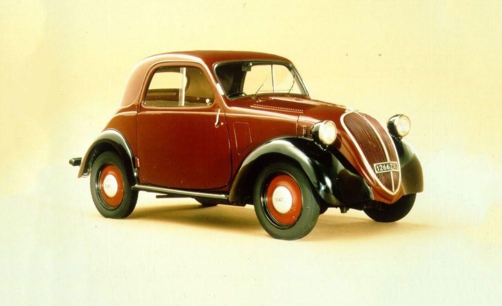 Vand piese Fiat Topolino epoca (500A) 1936-1942 masa bloc motor decor