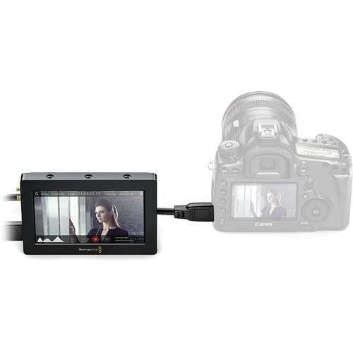 """Blackmagic Design Video Assist HDMI/6G-SDI Recorder and 5"""" Monitor"""