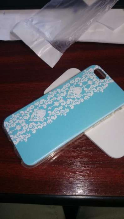 Husa Silicon TPU Apple IPhone 6/6s Henna Lace Turquoise