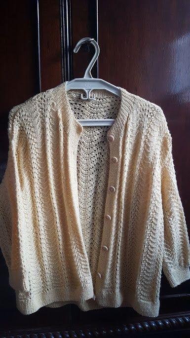 Pulover de dama tricotat mas.40