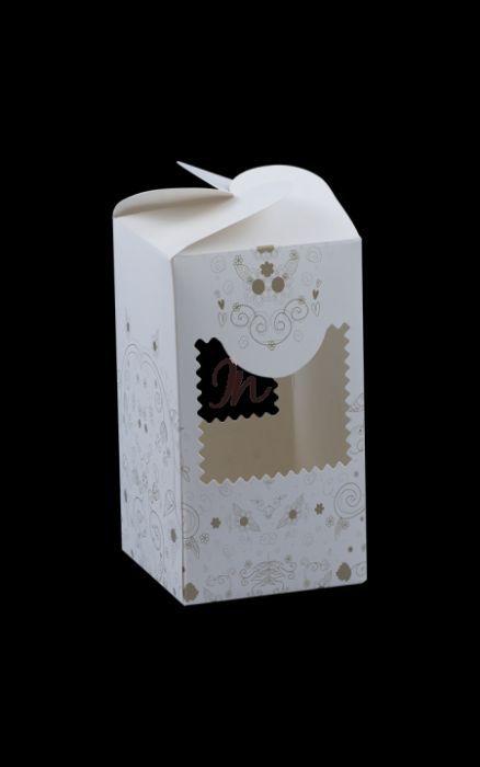 Cutii marturii borcan 60x60x110 mm x37buc